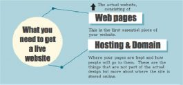 Three things you need to get online [infographic]